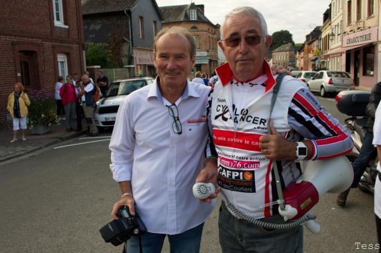 Cyclo Cancer 2016-Patrice et Papi Vélo