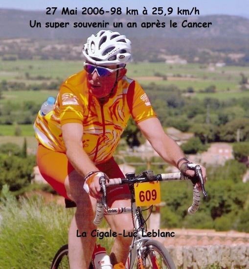 Après la maladie...le cancer à la Cyclosportive