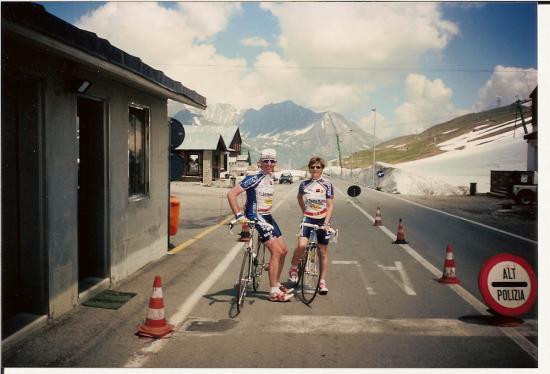 Au Petit St Bernard en 1995