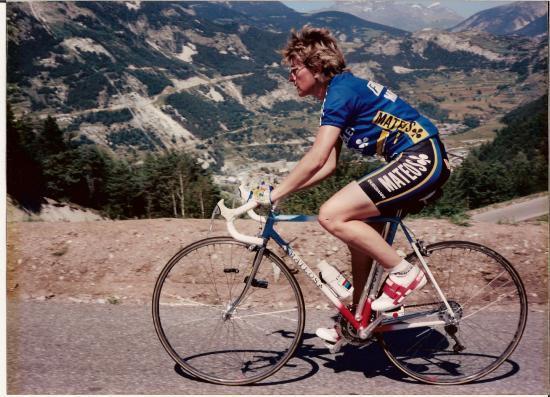 Victoire contre la montre en 1989 à La Norma.Bravo Nénette
