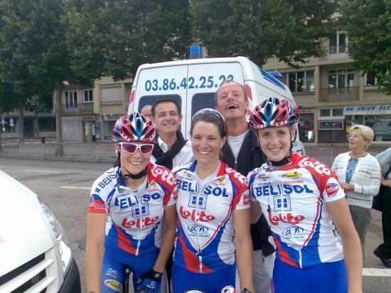 Nanard et Jean Benoit avec les filles !!!!