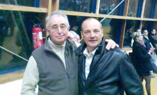 Papi et Thierry Marie
