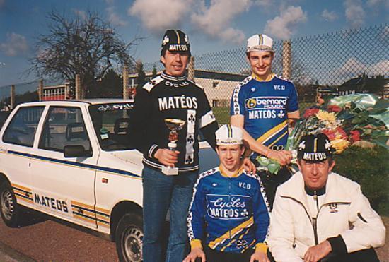 1 ère victoire de Vincent Dutot-Avril 1988
