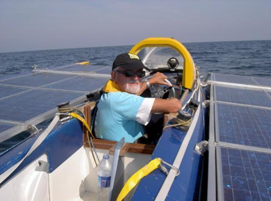 Le bateau solaire de Philippe