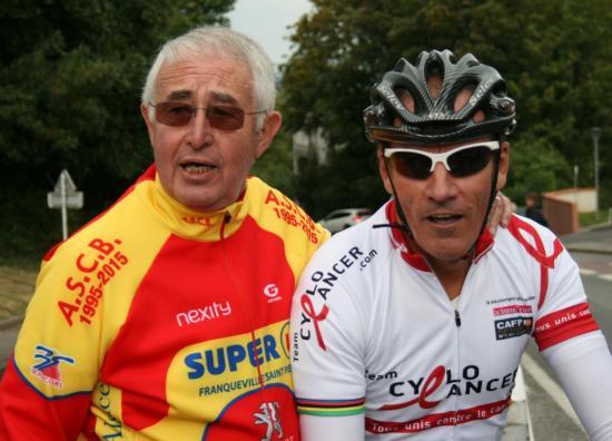 JB avec Papi Vélo