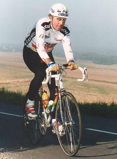 Papi vélo à La Stéphen Roche 98