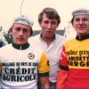 Les frères Pétrel avec Jacques Anquetil